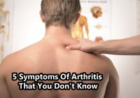5 Symptoms Of Arthritis That You Don't Know