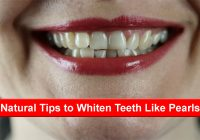 Natural tips to whiten teeth like pearls