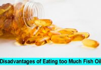 Disadvantages of Eating too Much Fish Oil